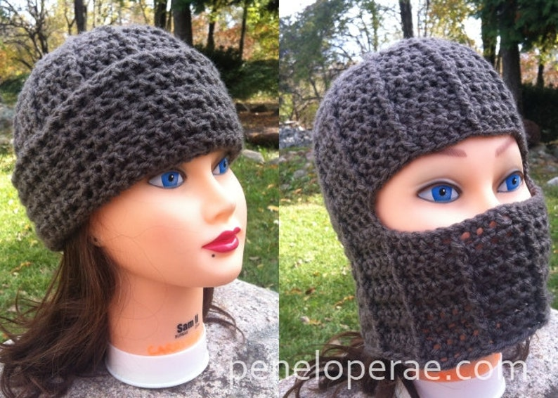 68678e586bb Crochet Fold-Down Hat Pattern