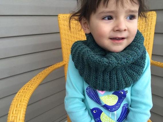 Toddler Infinity Scarf Pattern Etsy
