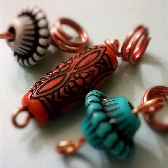 Ethnic Loc Jewelry SetNatural HairDreadlocksHair AccessoriesBody JewelrySister LocsUnisex Jewelry
