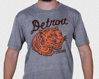 6e973c12d Detroit Tigers Shirt vintage 1935 pennant inspired design UNISEX Gift for Tigers  Fan Opening Day 2018 Tigers Baseball