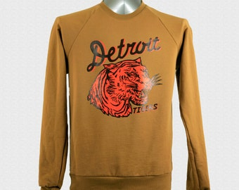 Detroit Tigers Baseball Sweatshirt Vintage 1935 Penant Inspired Design World Series Gift For Dad Opening Day 2018