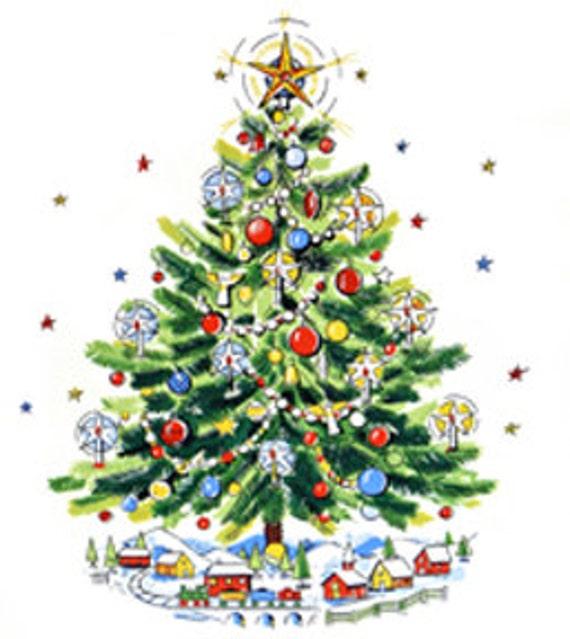 image 0 - Mid Century Christmas Tree