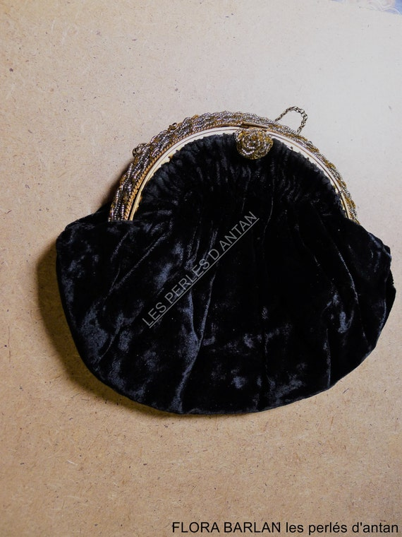PURSE ANTIQUE FRENCH