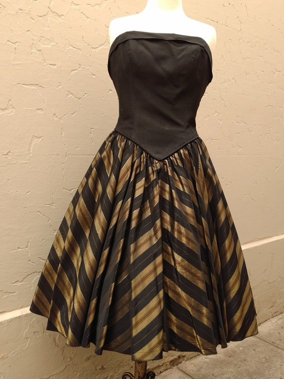 1950's cocktail frock - image 2