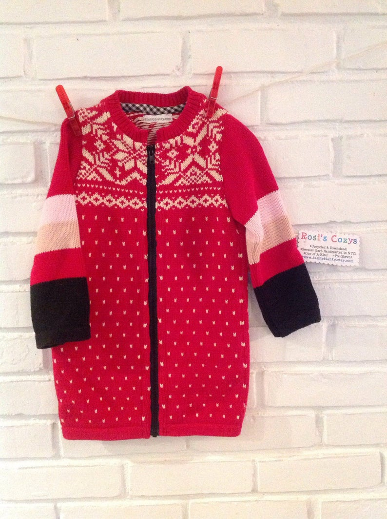 1299d5ab9f This holiday sweater is one of a kind baby for your little