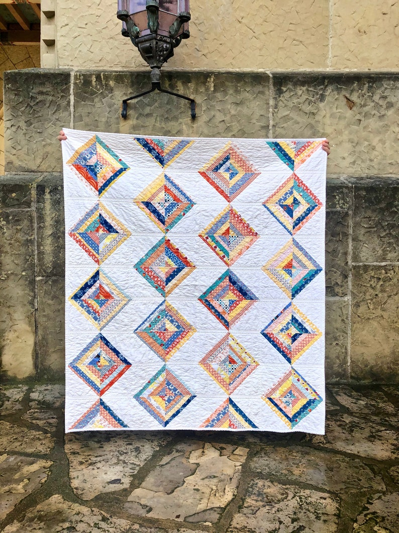 Bodhi Quilt Two Size Options Beginner and Fat Quarter image 0