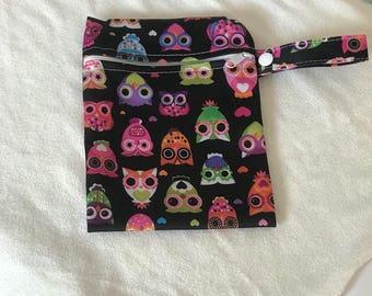 Wet Bag Mini - Owl Eyes