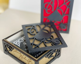 The Widow Box - Classic Playing Card Holder