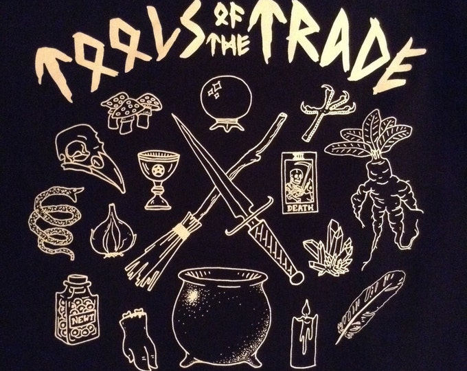 Tools of the Trade T-Shirt Salem Witch Union 1692 anvil 780