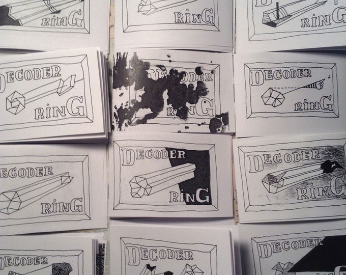 ALL 12 DECODER RINGS minicomic zines