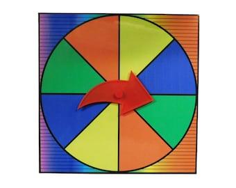 24 Spinning Wheel Etsy