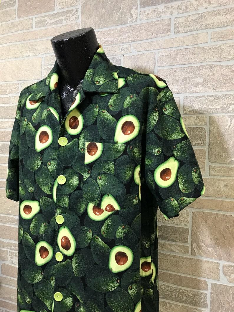 dd0e11b6c8a93f Avocado Hawaiian shirt Avocado lover shirt Casual Friday   Etsy