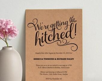 casual invitations etsy