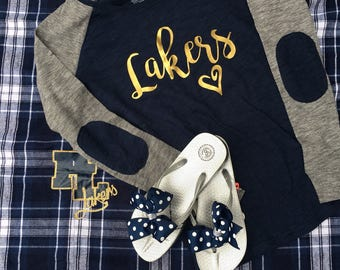 Love lakers! Womens size Prior lake lakers shirts! a59e2ac5d6