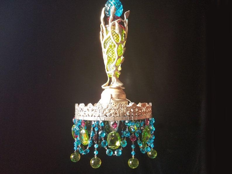 Kronleuchter Kristall Silber ~ Luxus silber kristall kronleuchter für hintergrund u stockfoto