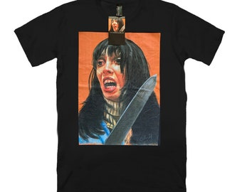 low priced 53cf7 5dab7 Shelley Duvall - The Shining - black unisex t-shirt