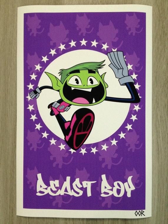 "Teen Titans Go Beast Boy 24/""x36/"" poster print"