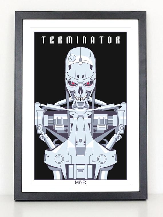 "Terminator 24/""x36/"" movie poster print"