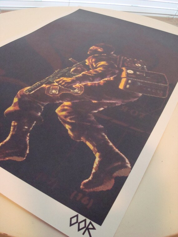 "G.I Joe Rattler 17/""x26/"" poster print"