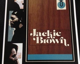 Jackie Brown movie poster print