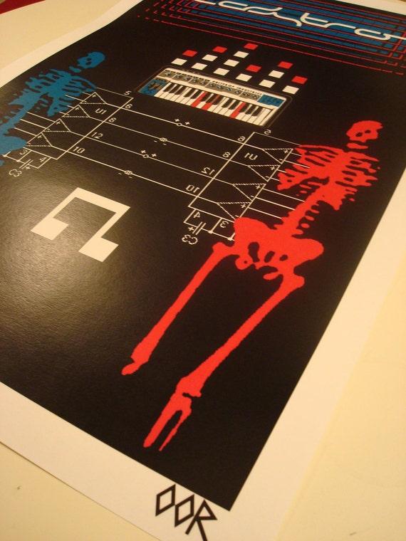 """Ladytron 24/"""" x 36/"""" band poster print"""