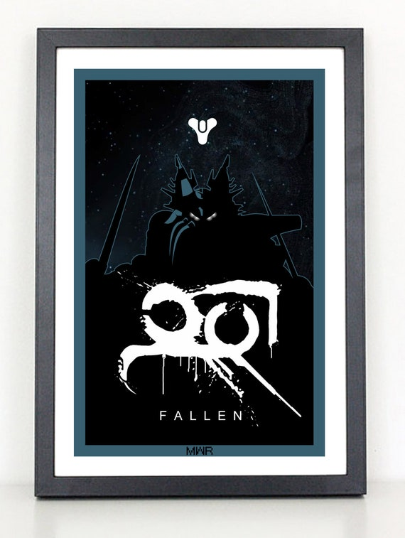 "Destiny Crucible 24/""x36/"" poster print"