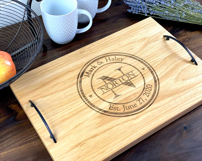 Personalized serving tray Personalized cheese board Personalized wedding gift Personalized bridal shower gift, Charcuterie board