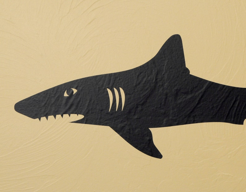 Wall Decal Shark