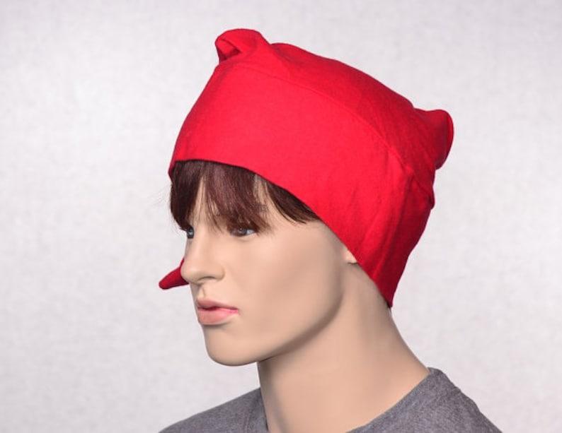 Cotton Flannel Night Cap Red Union Suit Nightcap Adult Mens Women/'s Sleep Hat Traditional Pointed Poor Poet \u00ae Sleeping Cap