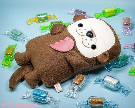 Otter Plush Doll Otter Stuffed Animal Sea Otter Stuffy Doll Etsy