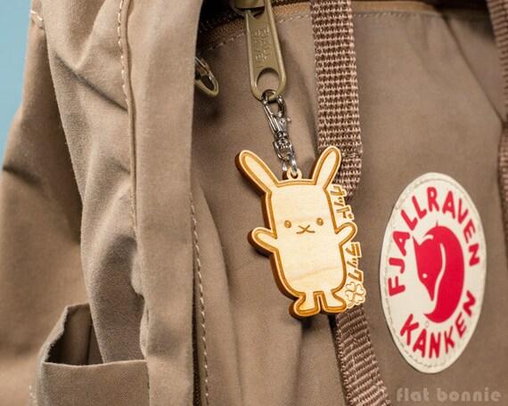 Kawaii Cute Cat Scratching Wall Jacket Handbag Purse Zipper Pull Charm