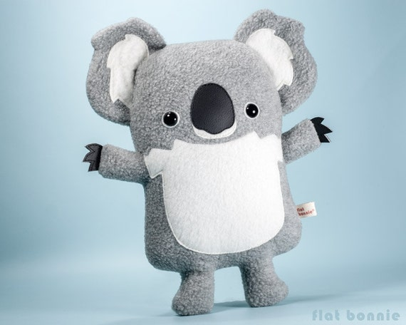 Cute Koala Plush Stuffed Animal Kawaii Koala Bear Soft Toy Etsy