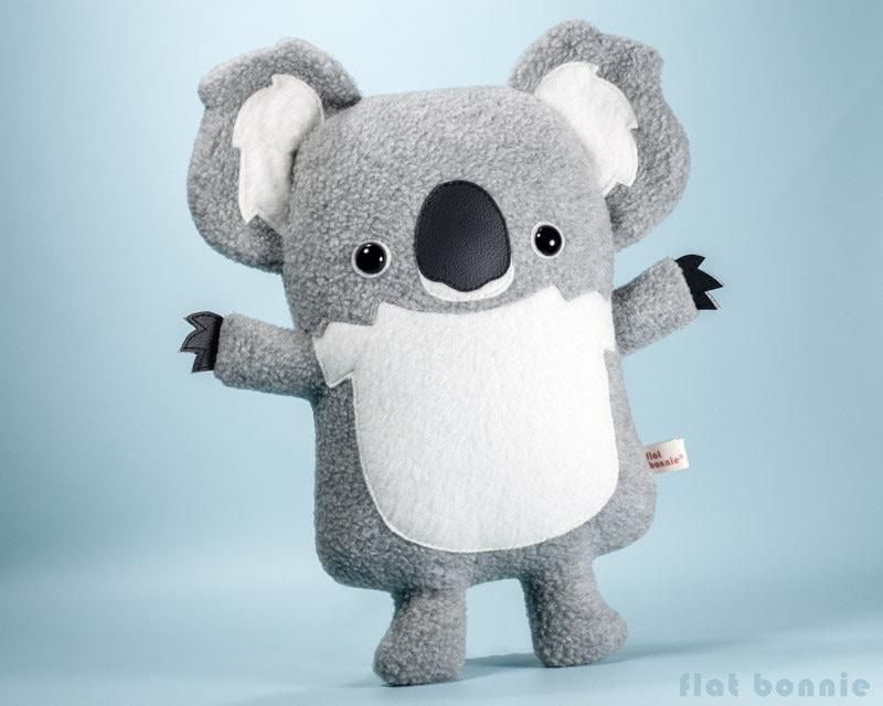 Cute Koala Plush Stuffed Animal Kawaii Koala Bear Soft Toy Etsy
