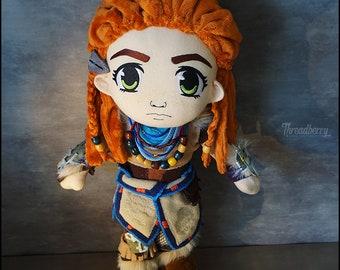 Aloy Plush Art Doll - Horizon Zero Dawn HZD