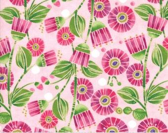 100 TINY 5mm FLOWER SEQUINS Primrose Pink//Hot Pink