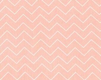 Zig Zag - Shell Pink Peach from Dear Stella