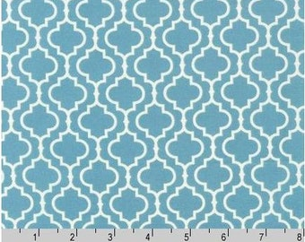Metro Living - Tiles Dusty Blue from Robert Kaufman