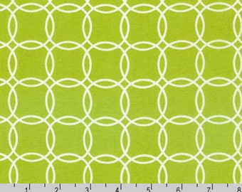 Metro Living - Rings Lime Green from Robert Kaufman