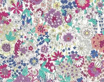Memoire a Paris LAWN - Floral Rainbow from Lecien Fabric