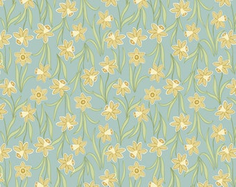 Flo's Little Flowers - Daffodils Sage from Lewis and Irene