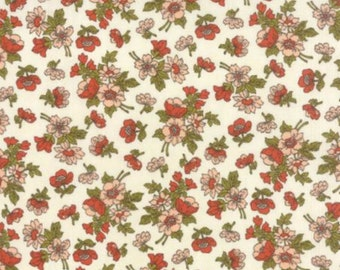 Nomad - Wildflower Bone Sunset Florals by Urban Chiks from Moda