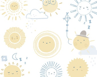 Your Are My Sunshine - Suns from Springs Creative Fabric