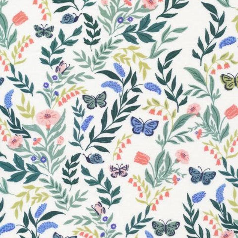 Flora Butterfly from Cloud 9 Fabrics Perennial
