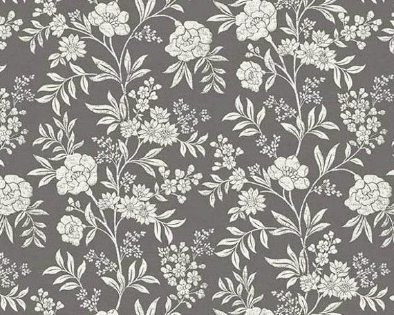 100/% Cotton Cream Multiple Sizes Makower Fabric Dream Flower Trail