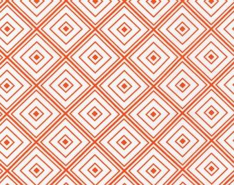 Metro Living - Orange Diamonds from Robert Kaufman