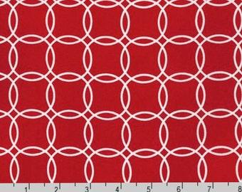 Metro Living - Rings Red from Robert Kaufman