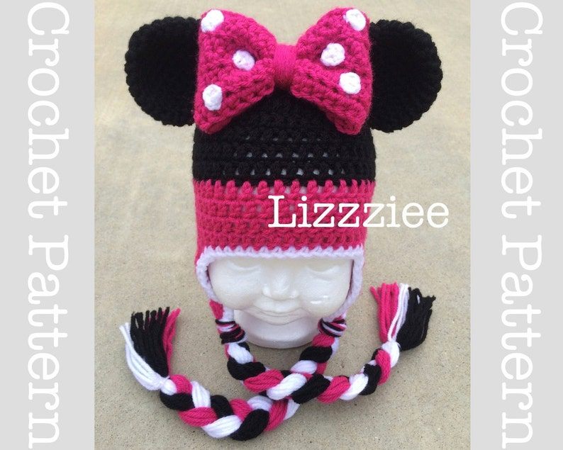 3af52701790 Minnie Mouse Crochet Pattern PDF fun to make for Disneyland