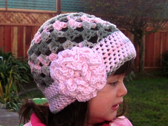 Cute Stuff Beanie Crochet Hat Pattern Pdf Easy To Make Etsy