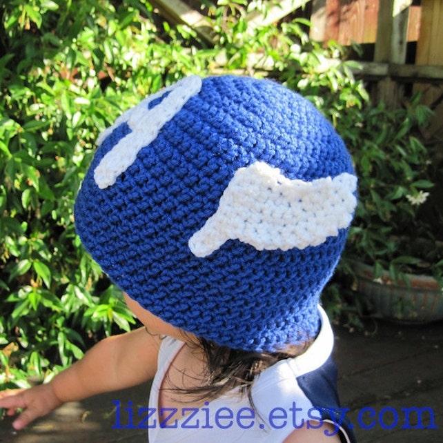 Capitán América Avengers crochet sombrero patrón PDF   Etsy