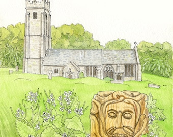 St Mary the Virgin, Throwleigh, Dartmoor